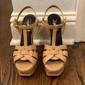 Yves Saint Laurent Tribute sandals